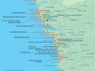 Популярные пляжи Южного Гоа