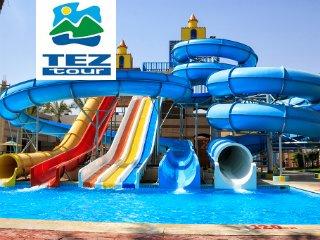 Горящий тур «Отель 5* с аквапарком по системе Фортуна в Хургаде, All Inclusive»