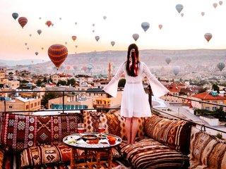 Горящий тур «Каппадокия, Анталия и Стамбул в одном туре! Перелёт включён!»