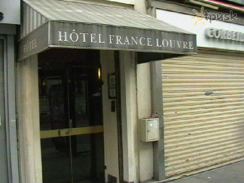 Фото отеля France Louvre 3* Париж Франция
