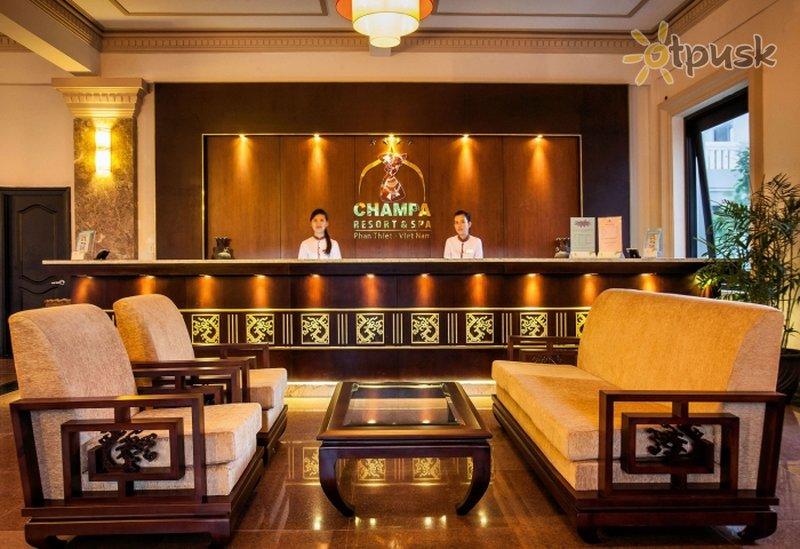 Фото отеля Champa Resort & Spa 4* Фантьет Вьетнам
