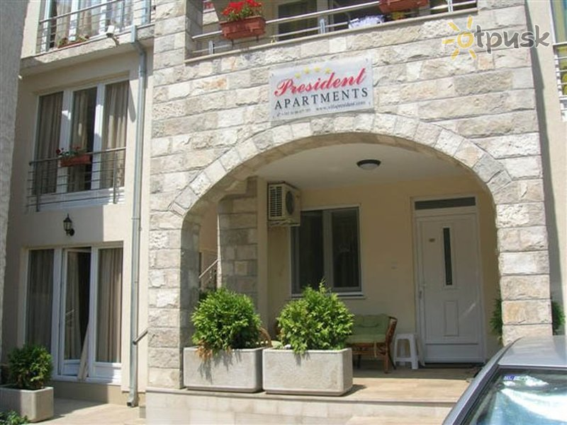 Фото отеля President Villa 3* Герцег Нови Черногория