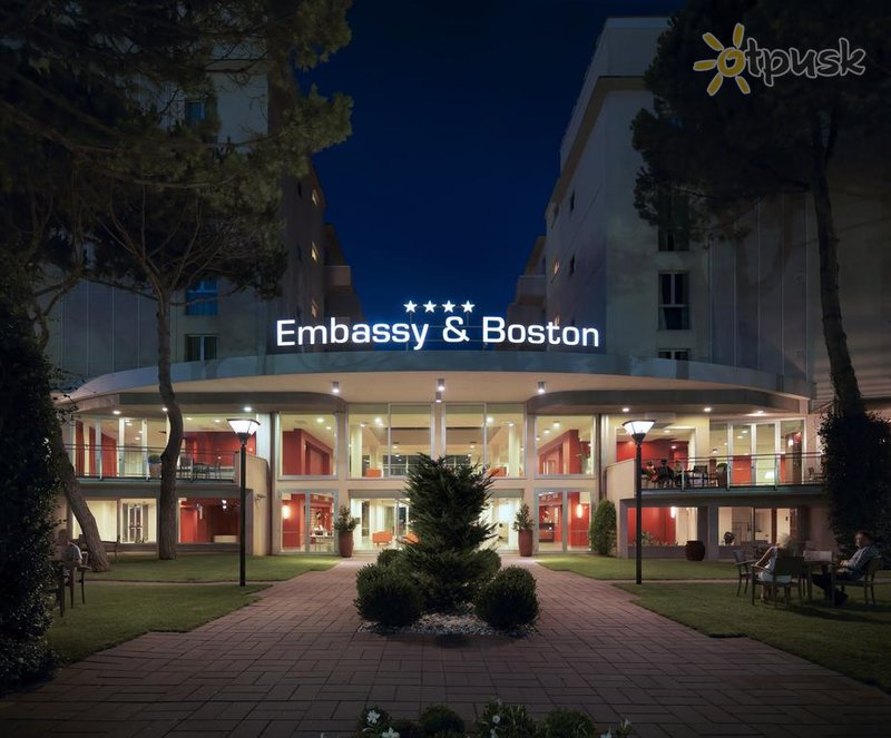 Фото отеля Embassy & Boston Hotel 4* Римини Италия