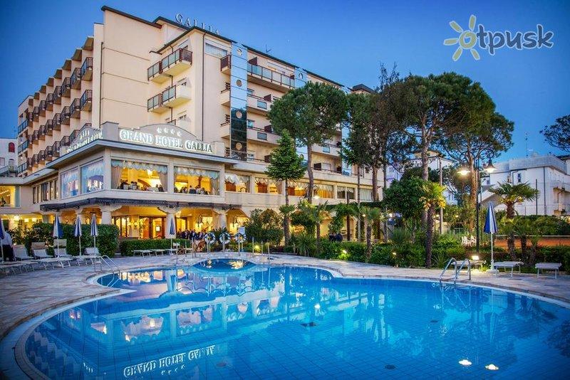 Фото отеля Gallia Grand Hotel 4* Римини Италия