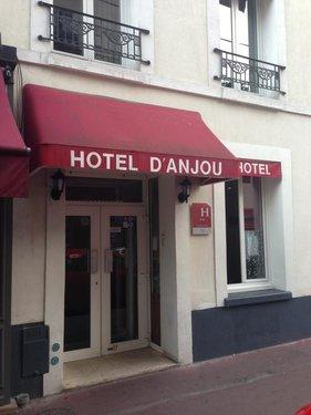 Тур в D'Anjou Hotel 3☆ Франция, Париж